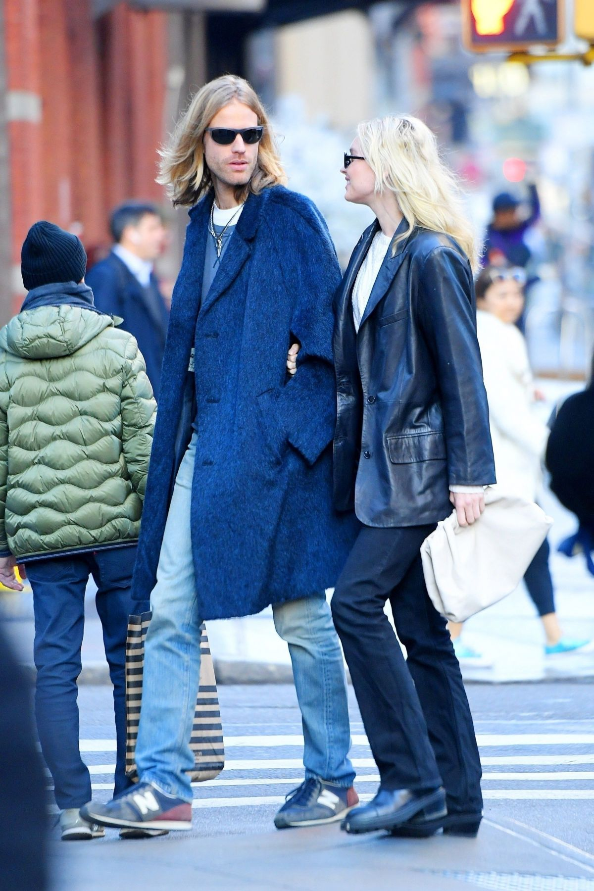 ELSA HOSK and Tom Daly Out in New York 11/27/2019 - HawtCelebs