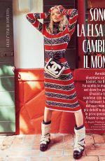 ELSA HOSK in Grazia Magazine, Italy November 2019