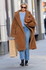 ELSA HOSK Out and About in New York 11/25/2019