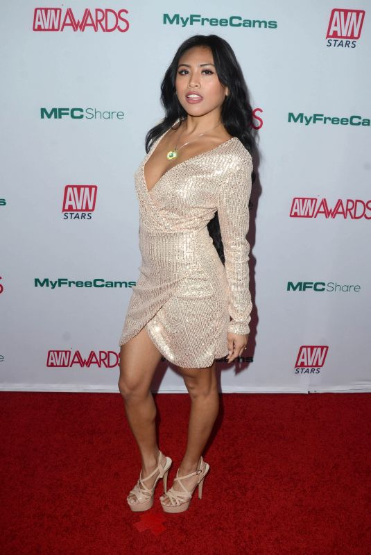 EMBER SNOW at Aadult Video News Awards Nominations in Hollywood 11/21/2019