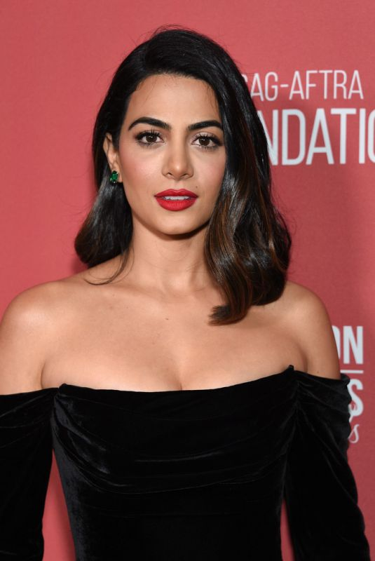 EMERAUDE TOUBIA at 4th Annual Patron of the Artists Awards in Beverly Hills 11/07/2019