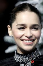 EMILIA CLARKE at Last Christmas Premiere in London 11/11/2019