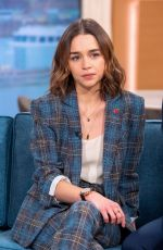 EMILIA CLARKE at This Morning Show in London 11/11/2019