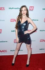 EMILY BLOOM at Aadult Video News Awards Nominations in Hollywood 11/21/2019