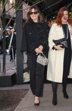 EMILY MORTIMER Arrives at Tribeca Chanel Women's Filmmaker Program Luncheon 11/04/2019