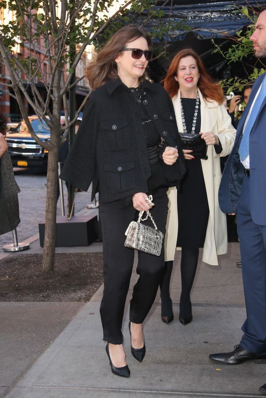 EMILY MORTIMER Arrives at Tribeca Chanel Women's Filmmaker Program Luncheon 11/04/2019