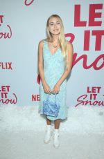 EMILY SKINNER at Let It Snow Premiere in Los Angeles 11/04/2019