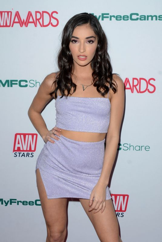 EMILY WILLIS at Aadult Video News Awards Nominations in Hollywood 11/21/2019