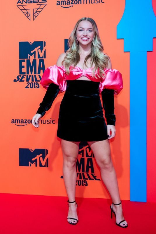 EMMA HEESTERS at MTV Europe Music Awards in Seville 11/03/2019