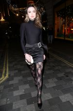 EMMA MILLER at House of CB Christmas Party in London 11/14/2019