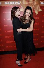 EMMA ROBERTS and LEA MICHELE at Kohl