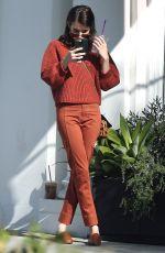 EMMA ROBERTS Leaves Ralph Lauren Store in Beverly Hills 11/10/2019