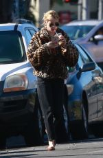 EMMA ROBERTS Out for Coffee in Los Angeles 11/24/2019