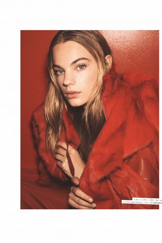 ESTELLA BOERSMA in Elle Magazine, UK December 2019