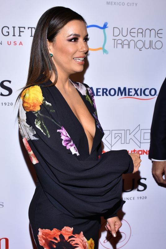 EVA LONGORIA at 5th Global Gift Foundation USA to the Occasion of Raising Funds in Mexico City 11/19/2019