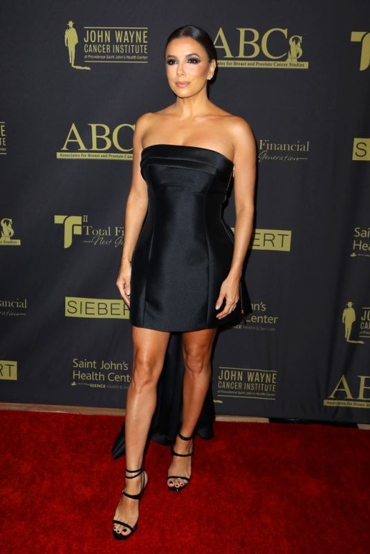 EVA LONGORIA at ABC'S 30th Anniversary Talk of the Town Gala in Beverly Hills 11/23/2019