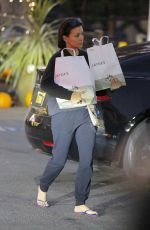 EVA LONGORIA Out Shopping in Beverly Hills 11/16/2019