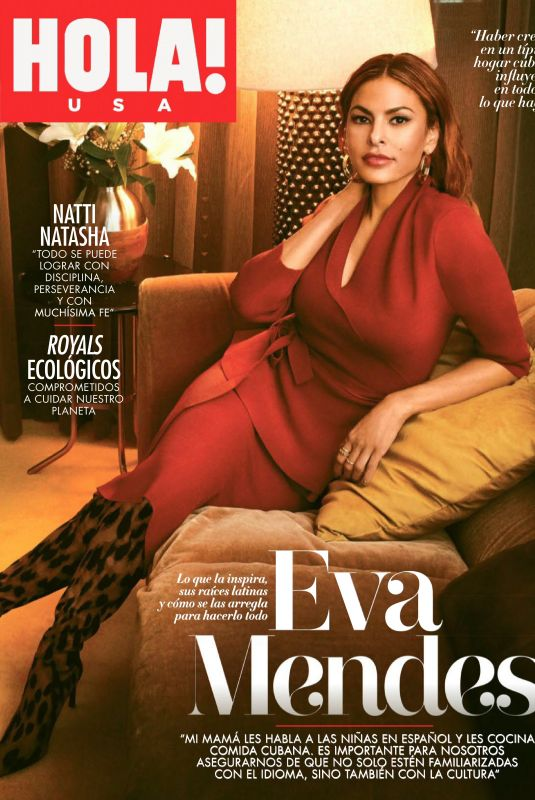 EVA MENDES in Hola! Magazine, December 2019/January 2020