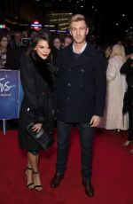 FAYE BROOKES at White Christmas Musical Press Night in London 11/25/2019