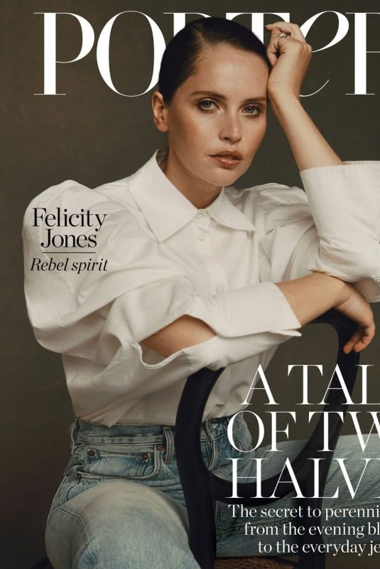 FELICITY JONES in Edit by Net-a-porter, November 2019
