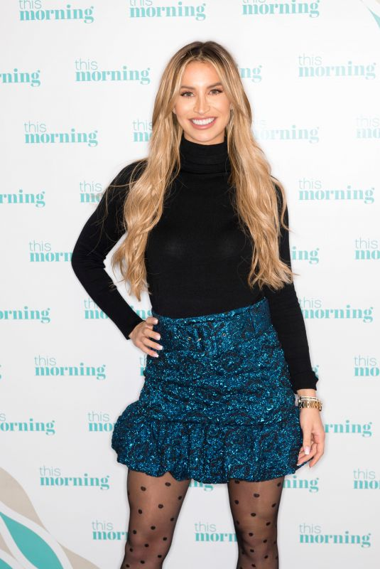 FERNE MCCANN at This Morning Show in London 11/15/2019