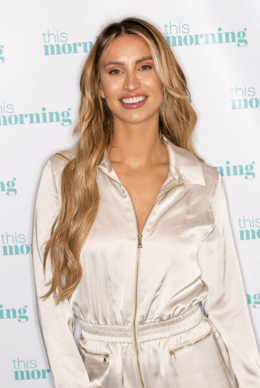FERNE MCCANN at This Morning Show in London 11/26/2019