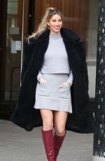 FERNE MCCANN Leaves This Morning Show in London 11/21/2019