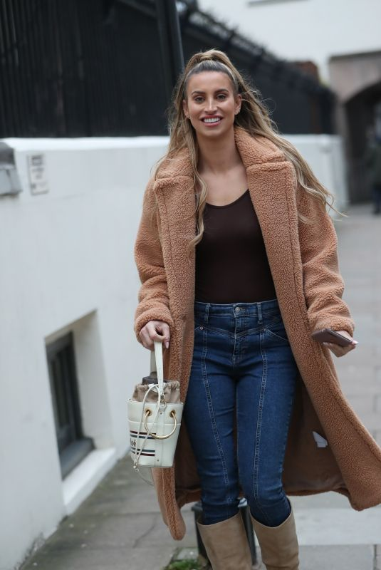 FERNE MCCANN Out and About in London 11/21/2019