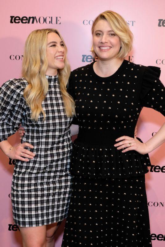 FLORENCE PUGH and GRETA GERWIG at Teen Vogue Summit 2019 in Los Angeles 11/02/2019