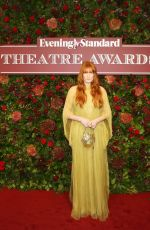 FLORENCE WELCH at 65th Evening Standard Theatre Awards in London 11/24/2019