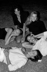 GEMMA WARD, GEORGIA FOWLER, VICTORIA LEE and CHARLEE FRASER in Harper
