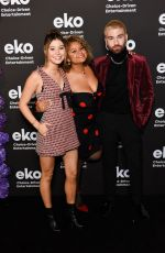 GENEVIEVE HANNELIUS at Eko Fall Fiction Slate Premiere in Hollywood 11/19/2019