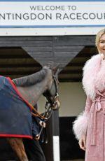 GEORGIA TOFFOLO at Winter Ladies Day at Huntingdon Racecourse 11/23/2019