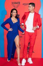 GEORGINA RODRIGUEZ and Cristiano Ronaldo at MTV Europe Music Awards in Seville 11/03/2019