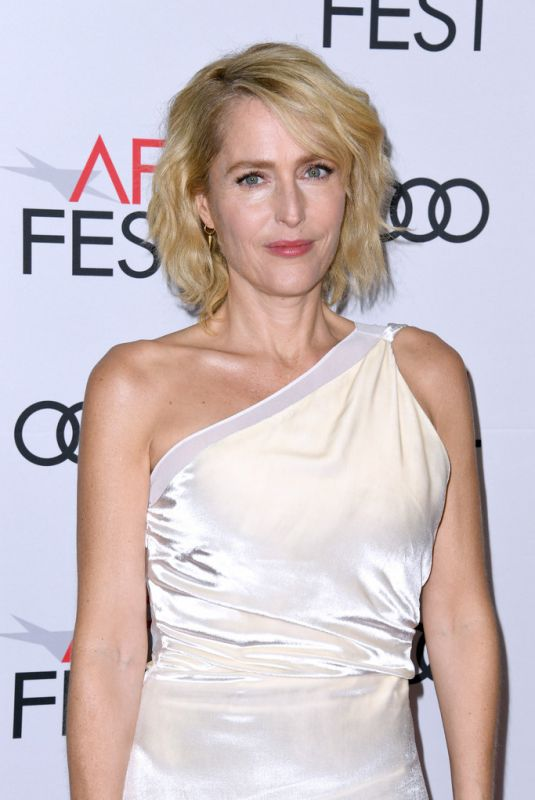 GILLIAN ANDERSON at The Crown, Season 3 Premiere at Afi Fest 2019 in Hollywood 11/16/2019