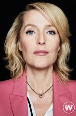 GILLIAN ANDERSON for The Wrap, Sex Education, November 2019