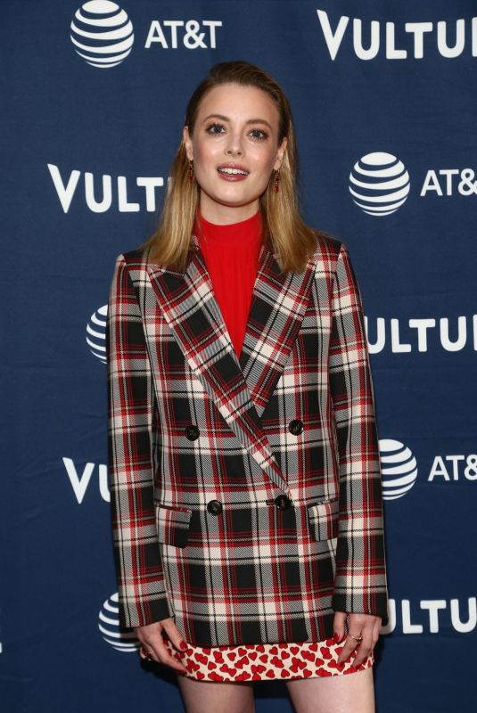 GILLIAN JACOBS at Vulture Festival in Los Angeles 11/10/2019