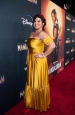 GINA CARANO at The Mandalorian Premiere in Los Angeles 11/13/2019
