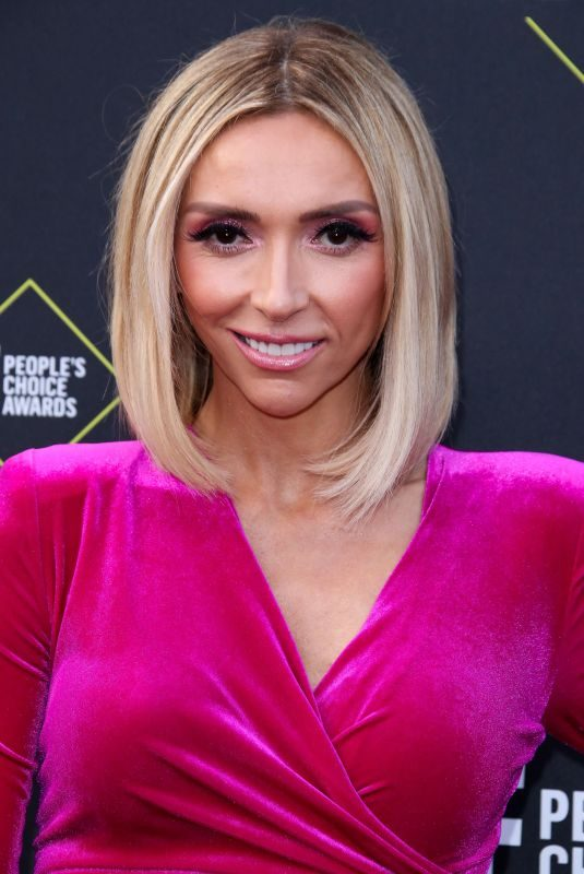 GIULIANA RANCIC at People's Choice Awards 2019 in Santa Monica 11/10/2019