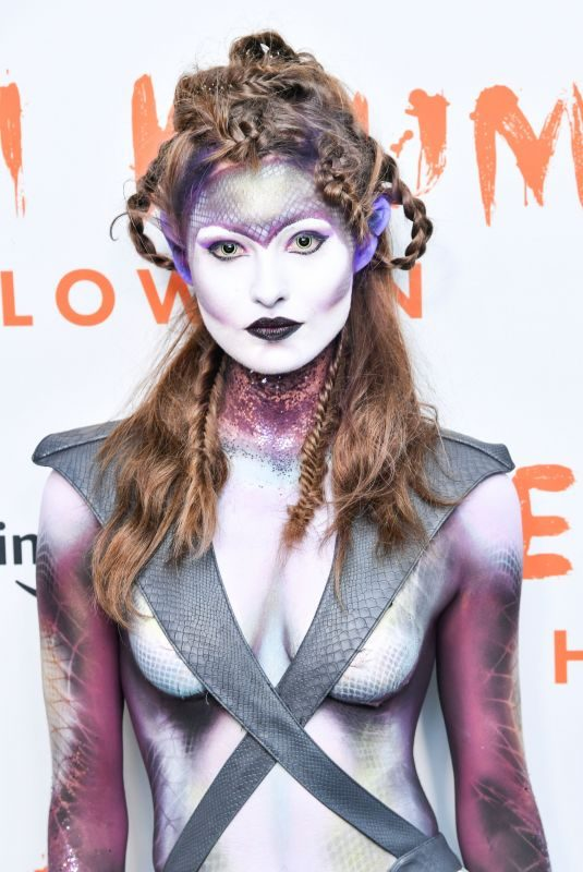 GRACE ELIZABETH at Heidi Klum's 20th Annual Halloween Party in New York 10/31/2019
