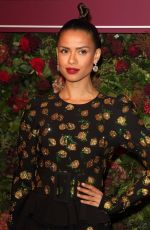 GUGU MBATHA at 65th Evening Standard Theatre Awards in London 11/24/2019