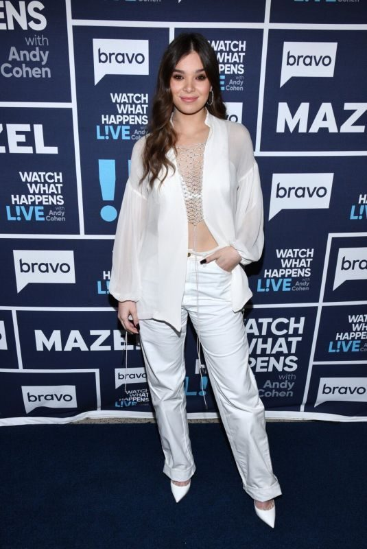HAILEE STEINFELD at Watch What Happens: Live in New York 11/07/2019