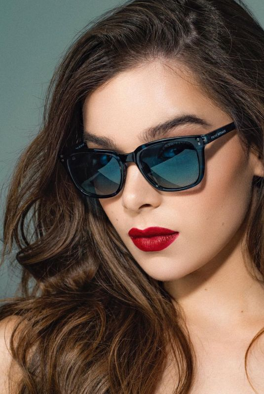HAILEE STEINFELD for Prive Revaux, The Dean 2019