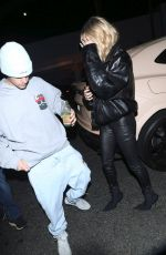 HAILEY and Justin BIEBER Night Out in Los Angeles 11/12/2019