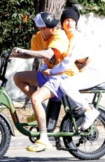 HAILEY and Justin BIEBER Out for Breakfast in Beverly Hills 11/16/2019