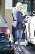 HAILEY BIEBER Leaves a Gym in Los Angeles 11/12/2019