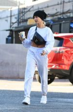 HAILEY BIEBER Out and About in West Hollywood 11/16/2019