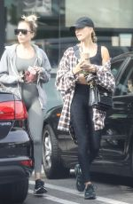 HAILEY BIEBER Out for a Green Juice in West Hollywood 11/13/2019