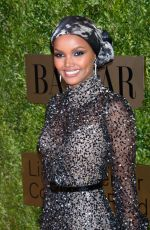 HALIMA ADEN at An Evening Honoring Leonard A. Lauder in New York 11/18/2019