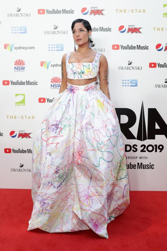 HALSEY at Aria Awards 2019 in Sydney 11/27/2019